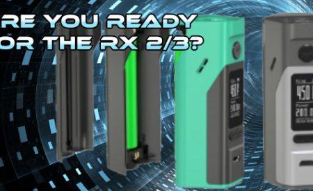 Wismec Reuleaux RX2/3 Mod Preview