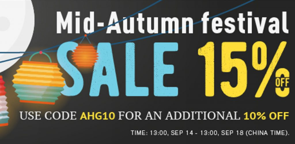 Mid-Autumn Festival Sale 15% Off On Products