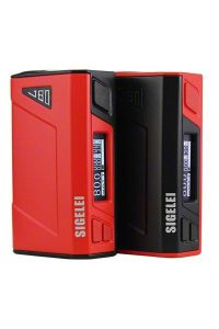 Sigelei J80 Box Mod In Red/Black and Black/Red Color Scheme