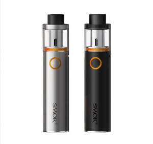 Smoktech Vape Pen 22 Starter Kit In Silver and Black Colors