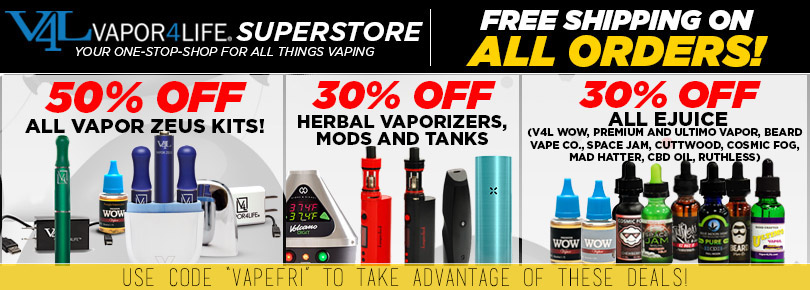 Vapor4Life Black Friday Sale