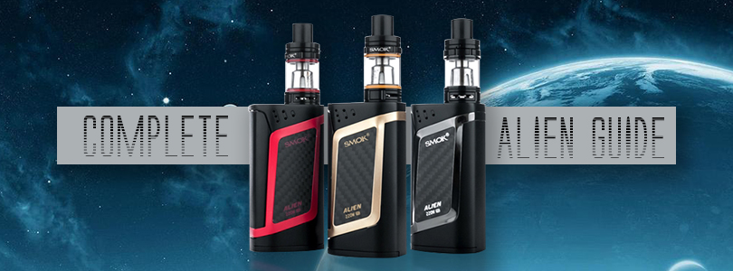 A Complete Guide To The SMOK Alien Mod - Guide To Vaping