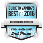 gtv-bestof2016-award-bestunregulatedvapemod-noiseycricket