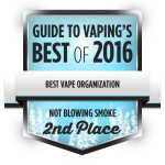 gtv-bestof2016-award-organization-notblowingsmoke