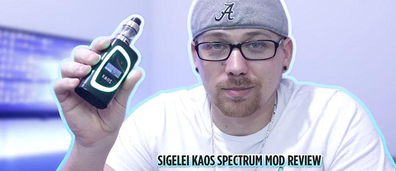 Sigelei Kaos Spectrum Mod Review