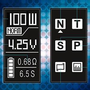 iJoy RDTA Box Mini Screen Menu