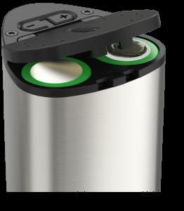 Pico-Dual battery door