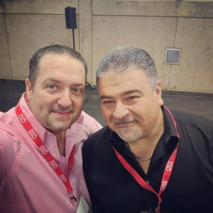 Dimitris Agrafiotis and Phil Busardo
