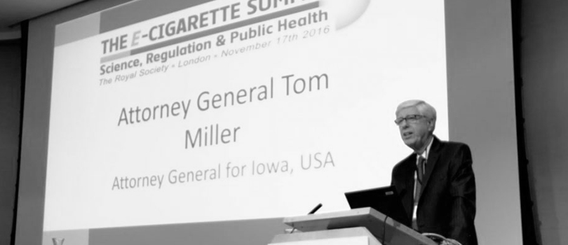 Tom Miller Fight For Vaping