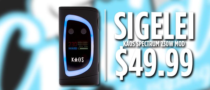 kaos spectrum deal