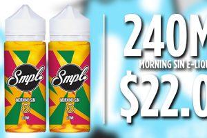 smpl morning sin deal