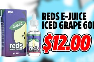 reds e-juice iced grape deal
