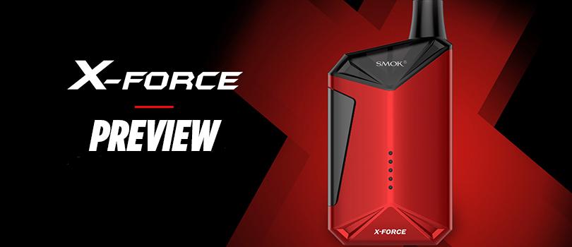 SMOK X-Force Kit Preview