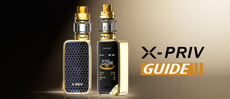A Complete Guide To The SMOK X-Priv Mod - Guide To Vaping
