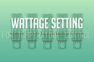 wattage setting temperature control