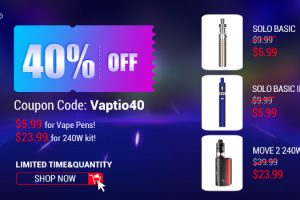 vaptio 40 off deal