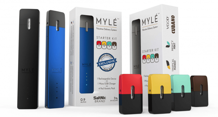 Myle Vape Starter Kit Preview - Guide To Vaping