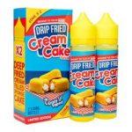 FRYD Drip Fried Cream Cake
