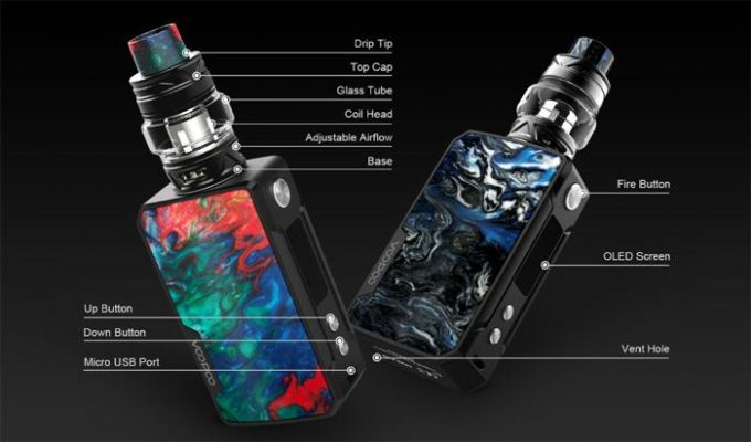 VooPoo Drag Mini Mod External Features