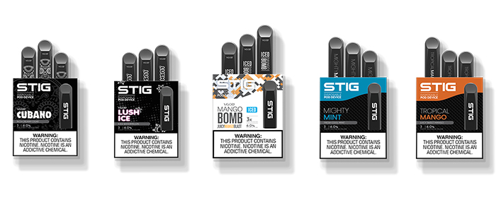 STIG Disposable Vape Pods Preview - Guide To Vaping