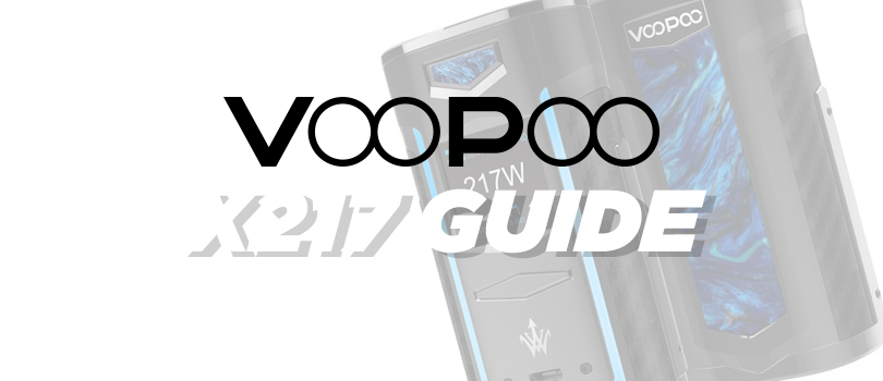 Guide To The VOOPOO X217 Mod