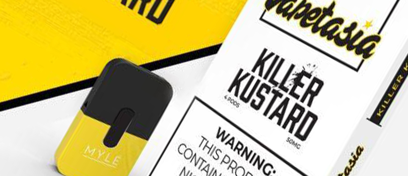 Killer Kustard Salt Nic Pods