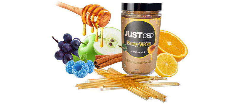 JustCBD Honey Sticks