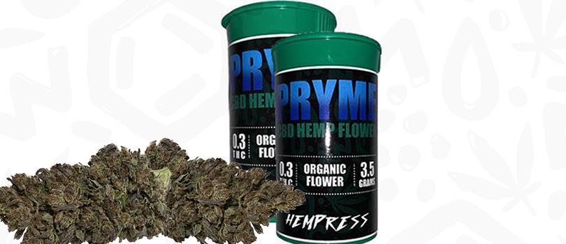 PRYME CBD Hemp Flower Promo