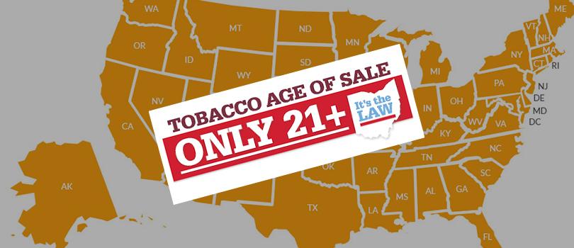 legal smoking age 21
