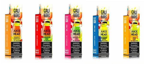 Juice Head Cali Bars Disposable Flavors
