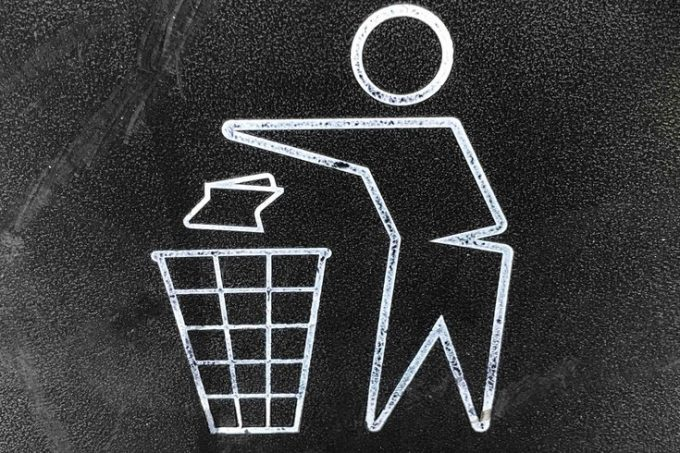 vaping trash
