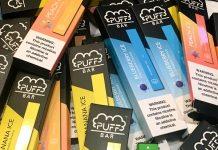 Puff Bars Disposable Vapes