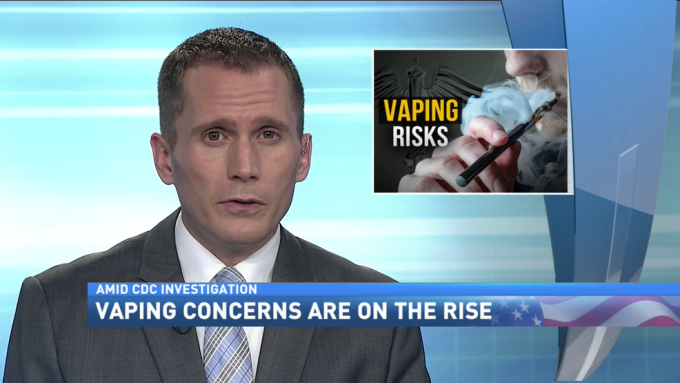 vaping tv news report