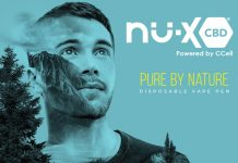 nu-x cbd disposable vape pen promotion