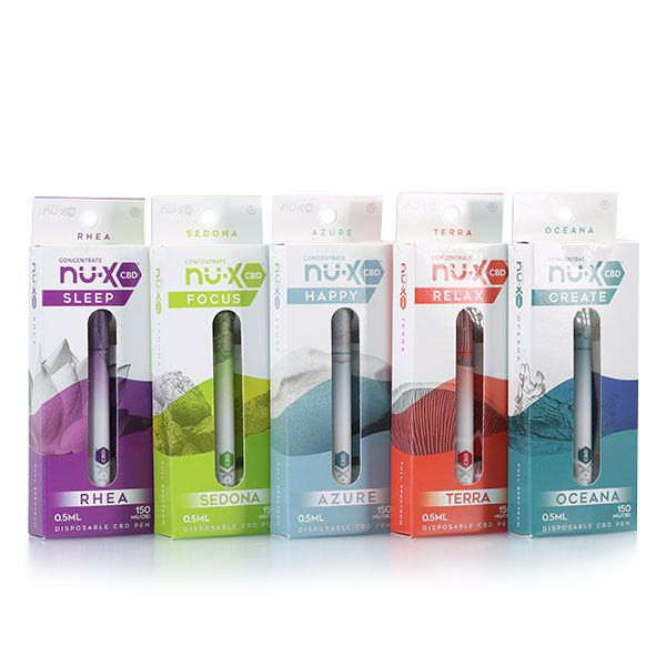 nu-x cbd disposable vape pen