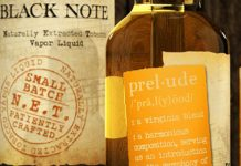 Black Note Prelude Vape Juice