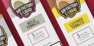 Air Factory Salt New Flavors