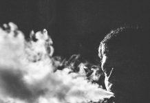 blowing vapor distorted