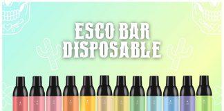 esco bars disposable vape