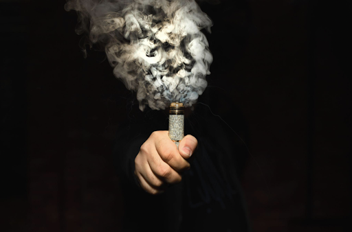 billowing vapor